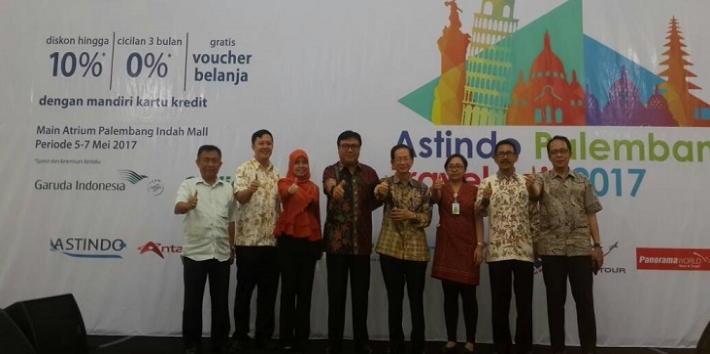 ASTINDO Palembang Travel Fair 2017